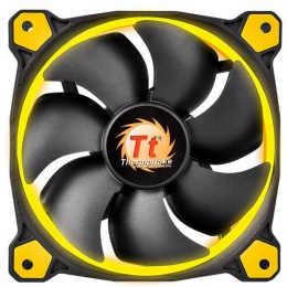 Фото Корпусный кулер Thermaltake Riing 14,Yellow LED (CL-F039-PL14YL-A)