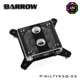 Фото Водоблок для процессора Barrow Hole Edition Intel 115x Black (LTYK3Q-03)