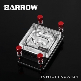 Фото Водоблок для процессора Barrow AMD Ryzen AM4 Red (LTYK3A-04)