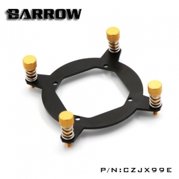 Фото Крепление для водоболока Barrow Energy series X99 CPU Block Bracket Black-Gold (CZJX99E)
