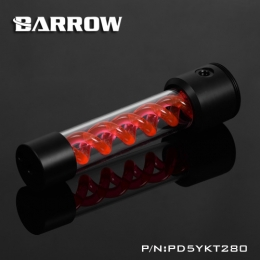 Фото Резервуар Barrow T Virus D5/SPG40A Black-Red (PD5YKT280)