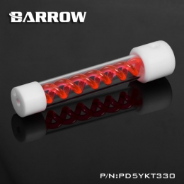 Фото Резервуар Barrow T Virus D5/SPG40A 330 mm White-Red (PD5YKT330)