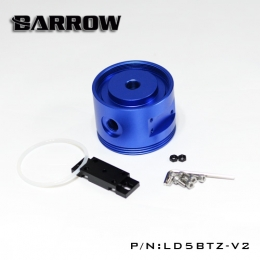 Фото Top Barrow D5/SPG42A Pump Cover(Circular)- Can Connect The Reservoir Aluminum Lake Blue (LD5BTZ-V2)