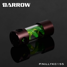 Фото Резервуар Barrow T Virus Reservoir 155 mm Brown-Black (Green Spiral) (LLYKC155)