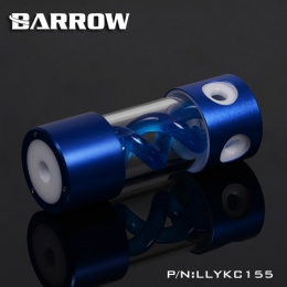 Фото Резервуар Barrow T Virus Reservoir 155 mm Blue-White (Blue Spiral) (LLYKC155)