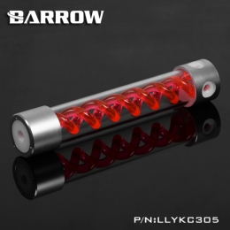 Фото Резервуар Barrow T Virus Reservoir 305 mm Silver-White (Red Spiral) (LLYKC305)