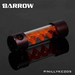 Фото Резервуар Barrow T Virus Reservoir 205 mm Brown-Black (Orange Spiral) (LLYKC205)