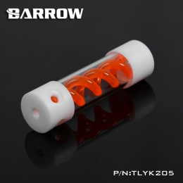 Фото Резервуар Barrow T Virus Reservoir 205 mm White-White (Orange Spiral) (TLYK205)