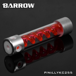 Фото Резервуар Barrow T Virus Reservoir 255 mm Silver-White (Red Spiral) (LLYKC255)
