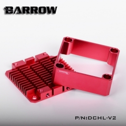 Фото Barrow Special Aluminum Heatsink Top Kit For DDC Pump DCHL-V2 Red