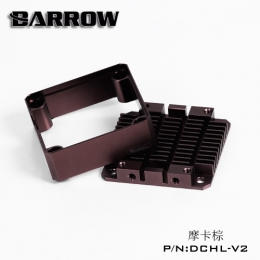 Фото Barrow Special Aluminum Heatsink Top Kit For DDC Pump DCHL-V2 Dark Brown