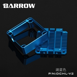 Фото Barrow Special Aluminum Heatsink Top Kit For DDC Pump DCHL-V2 Light Blue