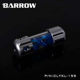Фото Резервуар Barrow T Virus Reservoir 155 mm Gray (Blue Spiral) (CLYKL155)