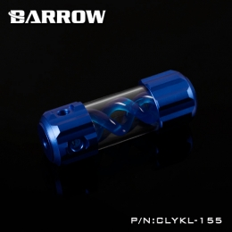 Фото Резервуар Barrow T Virus Reservoir 155 mm Dark Blue (Blue Spiral) (CLYKL155)