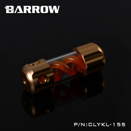 Фото Резервуар Barrow T Virus Reservoir 155 mm Gold (Orange Spiral) (CLYKL155)