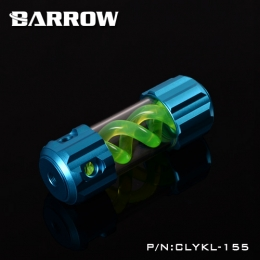 Фото Резервуар Barrow T Virus Reservoir 155 mm Light Blue (Green Spiral) (CLYKL155)