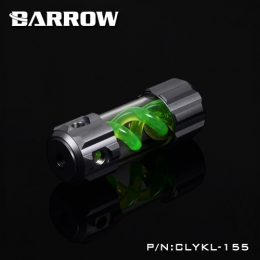 Фото Резервуар Barrow T Virus Reservoir 155 mm Gray (Green Spiral) (CLYKL155)
