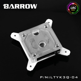 Фото Водоблок для процессора Barrow Hole Edition Intel 115x White (LTYK3Q-04)