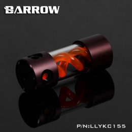 Фото Резервуар Barrow T Virus Reservoir 155 mm Brown-Black (Orange Spiral) (LLYKC155)