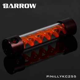 Фото Резервуар Barrow T Virus Reservoir 255 mm Brown-Black (Orange Spiral) (LLYKC255)