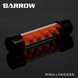 Фото Резервуар Barrow T Virus Reservoir 255 mm Black (Orange Spiral) (LLYKC255)