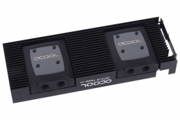 Фото Водоблок для видеокарты Alphacool NexXxoS GPX - Nvidia Tesla M02 - with Backplate - black