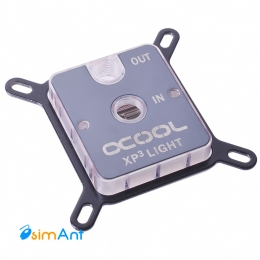Фото Водоблок  Alphacool NexXxoS XP3 Light - Plexi Edition - Intel/AMD