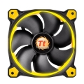 Фото Корпусный кулер Thermaltake Riing 12 Yellow LED (CL-F038-PL12YL-A)