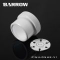 Фото Barrow Special Aluminum Heatsink Top Kit For D5/MCP655 Pump White (LD5HK-V1)