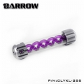 Фото Резервуар Barrow T Virus Reservoir 255 mm Silver (Purple Spiral) (CLYKL255)