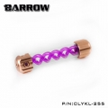 Фото Резервуар Barrow T Virus Reservoir 255 mm Gold (Purple Spiral) (CLYKL255)