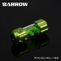 Фото Резервуар Barrow T Virus Reservoir 155 mm Green (Green Spiral) (CLYKL155)
