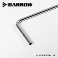 Фото Трубка Barrow TDWG-14 14*12 Copper Chrome Plated Metal Rigid Tube 90° single bend