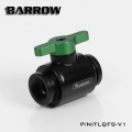 Фото Кран Barrow Mini Valve G1/4 Black-Green (TLQFS-V1)