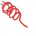 Монтажный высоковольтный провод в силиконовой изоляции (красный)